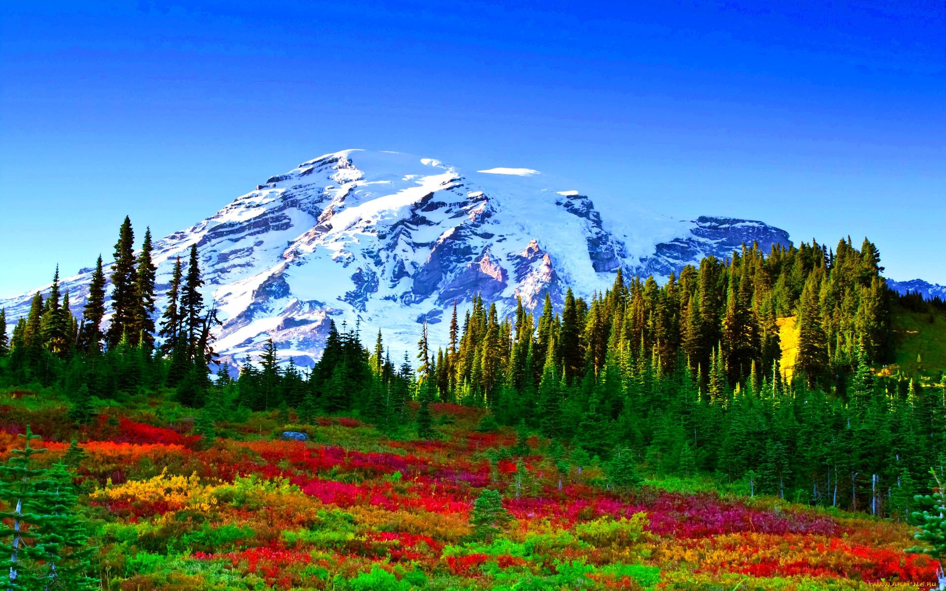 Пейзажи с горами картинки
